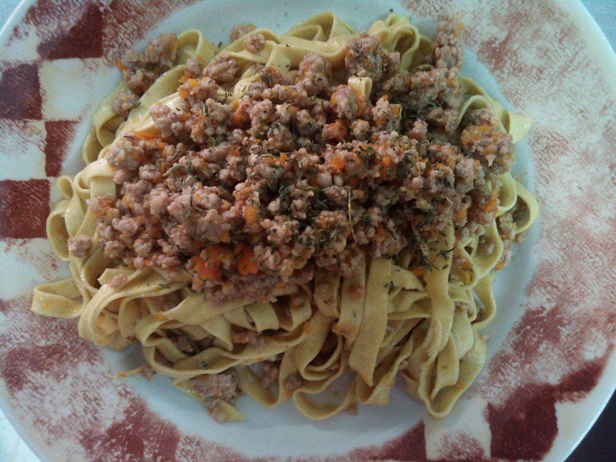 """Ricetta """"ragù di vitello aromatizzato al timo d'Abruzzo"""""""